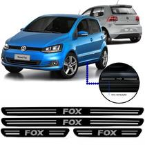 Jogo Soleira Resinada Volkswagen Fox 4 Portas 2013/...