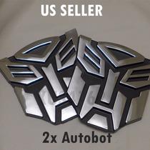 Adesivo Tuning Pvc Transformers Autobot Emblema