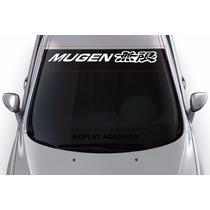 Adesivo Faixa Parabrisa Tuning Carro Esportivo Mugen