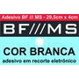 Adesivo Bf /// Ms - Camionete - 29,5cm X 4cm - Frete Grátis!