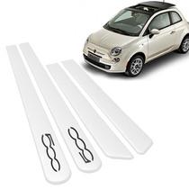 Friso Lateral Fiat 500 Branco Caldo