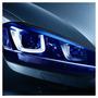 Película Adesivo Farol Lanterna Milha Carro Moto Azul