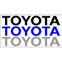 Adesivo Tampa Traseira Toyota Hilux