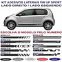 Kit Faixa Sport Vw Up Volkswagen Personalizada