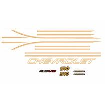 Kit Faixas Laterais S10 Executive Cabine Dupla 2001 4.3 V6