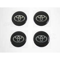 Adesivos Emblema Resinado Roda Toyota 58mm - Cl4 - Decalx