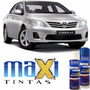 Tinta Spray Automotiva Toyota Prata Onix + Verniz 300ml