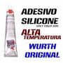 Silicone Adesivo Alta Temperatura Wurth Original 60g Grey