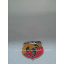 Emblema Abarth Fiat Carro Escorpião Stilo 500 Palio Uno