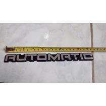 Emblema Automatic Porta-malas Opala Caravan Comodoro 91-92