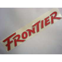 Emblema Frontier (lateral) Linha Nissan - (p01-a105a)