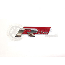 Emblema Vw R Line Golf Gol Fox Tiguan Amarok Gti Acessórios
