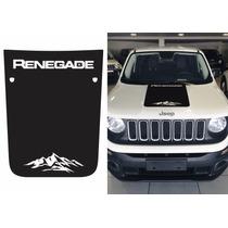 Adesivo Capô Jeep Renegade Fosco - Trailhawk Mountain
