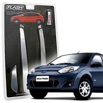 _friso Para-choque Cromado Fiesta Hatch 08 09 10 11 Jg 4pçs