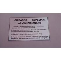 Adesivos Cuidados Especiais Ar Condicionado Gol/santana