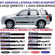 Acessorios Adesivo Lateral Ford Ecosport Freestyle Kit