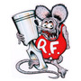 Adesivo - Rat Fink Piston