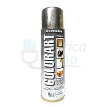Tinta Spray Cromada Metalica Coloart