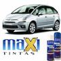 Tinta Spray Automotiva Citroen/peugeot Gris Alumini + Verniz