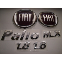 Kit Capo + Mala Vermelho + Palio + Hlx + 2x 1.8 04/...- Bre
