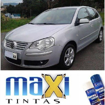Tinta Spray Automotiva Vw Prata Light + Verniz 300ml