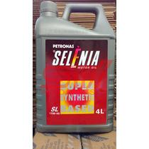 Óleo Do Motor Selenia Sl 15w40 Api Semi Sintetico 4 Litros
