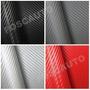 Adesivo Fibra De Carbono Carro Moto 1m X 30cm - Frete Gratis