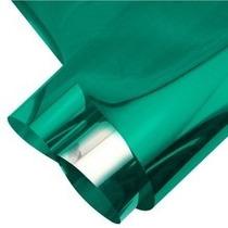 Insulfilm-insul Film Espelhado Verde 0,75x15m Profissional