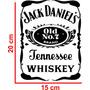 Adesivo Automotivo Jack Daniels Carro + Brinde