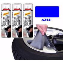 Envelopamento Liquido Spray Plasti Dip Mp30 - Azul Metalico