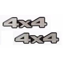 Par Adesivos Resinados L200 Sport 4x4 - Modelo Original