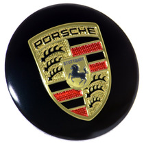 Kit 4 Calotinhas De Roda 55 Mm - Porsche 911 Carrera Panamer
