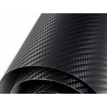 Vinil Adesivo Fibra De Carbono Preto Opaco P/ Envelopamento