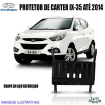 Protetor De Carter Hyundai Ix-35 Até 2014 Capa Em Aço