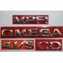 Kit De Emblemas P/ Omega + Cd + 4.1/s + Mpfi 96/... - Bre