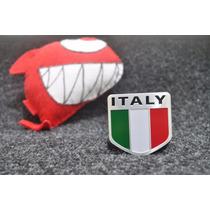 Emblema Fiat Italy Italia Uno Punto Tjet Palio 500 !!!