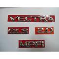 Kit De Emblema P/ Vectra + Gls + 2.0 + Mpfi 96/... - Bre