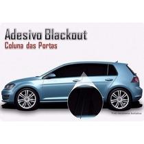 Kit Adesivo Blackout Para Coluna Vectra, Meriva Zafira