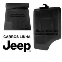 Tapete Borracha Jeep Grand Cherokee / Wrangler Sport - 4pçs