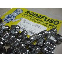 20 Porcas Cromadas Rodafuso 341cr Para Roda Gm S10 1998/2011