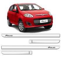 Friso Lateral Fiat Palio 2012 2013 2014 2015 4p 4pcs Cromado