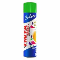 Tinta Spray Verde Luminoso Neon Colore 400ml Uso Geral