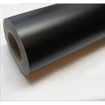 Adesivo Preto Fosco Para Envelopamento De Carro 1mx1m