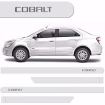 Friso Lateral Chevrolet Cobalt 2012 /2016 Branco Summit *