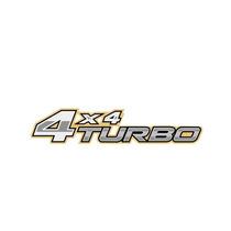 Adesivo 4x4 Turbo Toyota Hilux Dourado