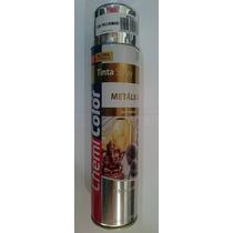 Tinta Spray Tipo Cromado Metálica Chemicolor Uso Geral 400ml