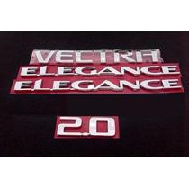 Kit De Emblemas P/ Vectra + 2x + Elegance + 2.0 06/11 - Bre