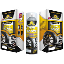 Dip Shine Tinta Spray 9 Cores Envelopamento Autoshine 500ml
