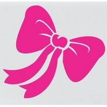 Adesivo Decorativo Garotas Feminino Notebook Carro Lacinho