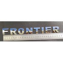 Emblema Frontier Cromados De 3cm Com Adesivo 3m